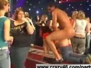 Catwalk ass pounding