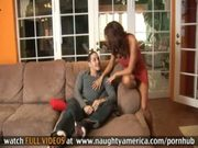 Hot Mom Gets Her Pussy Pounded By Young Stud