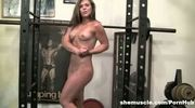 Flexible Gym Fun Fitness Hottie