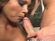 Gorgeous babe gets an extreme anal fucking