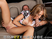 Capri Cavalli fucks the limo driver