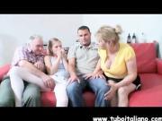 Italian Milf Mamma e Figlio