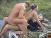 Hardcore gangbang in the forest-anal-DP