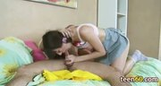 couple playing with toy and then fuck