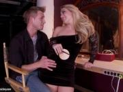 Gorgeous Blonde AJ Applegate Foot Fetish Sex