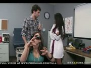BIG TIT BRUNETTE LATINA MILF PORNSTAR DOCTOR JOLIE DEALS WITH DIC
