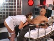 Big boobed nurse Brooke Haven fucking in the hospital