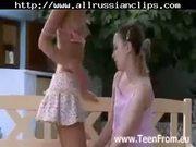 Sweet European Lezzies Make Love Outdoors russian cumshots swallow