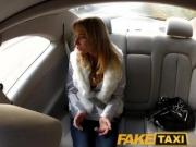 FakeTaxi Young Euro girl penetrated by huge cock under bridge in public