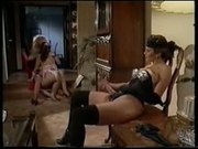 Lesbian 3some W. Strap-on And Toys lesbian girl on girl lesbians