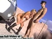 Nikki Benz sucks on officer OBDs big dick