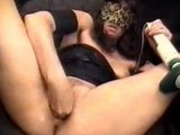 Nasty Slut Fisting Her Hole