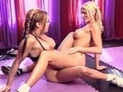 Lesbian aerobics with Mason Marconi