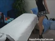Teen Massage Girl Caught Fucking on Spy Cam!