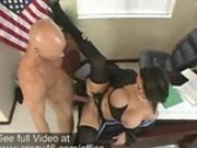 Big Titted Boss gets fucked in Office