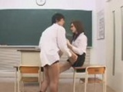 Asian Teacher Fucks Her Student