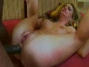Aline Takes On A Big Black Cock