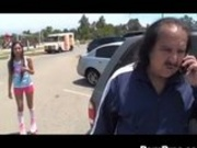 Cali Lee Plays With Ron Jeremy