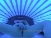 Tanning booth hidden camera