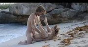 Leila love fucking on the beach