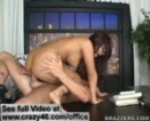 Eva Angelina fucks hard in her Office