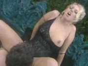 Hot Brittney Skye rides some cock