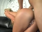 blond oils up ass and gets pounded