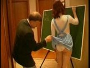 He wants to teach her something else than maths