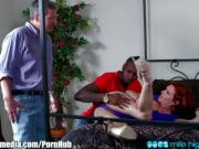 Veronica Avluv Squirts on Black Cuckold Cock