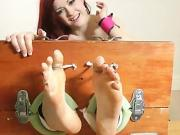 Jess Hot Body Nylon Tickle Part 2