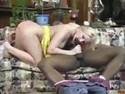 Anal interracial fuck with blonde slut