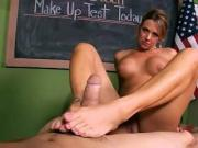Brianna Hosed for teacher