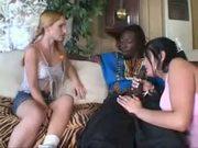 A MILF, a Teen, and a Big Black Dick
