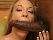 Jamie Elle levs his big black cock