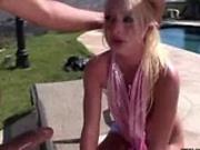 Outdoor anal scene