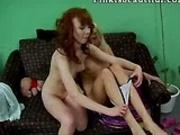 Erotic lesbos kissing
