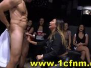 Cfnm Club - girls go wild for big stripper dick