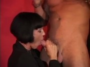 Valentine Demy - Italian Milf fucked by two guys