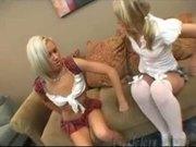 Kacey Jordan & Maxine Tyler lesbo sex