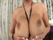 Busty Dylan Dildos Her Snatch