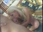 Sexy Blonde Liz Honey - Sun Stroking and Girl Poking