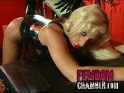 Black Femdom Mistress with a strapon dildo