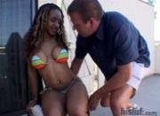 Ayana pussy is wet