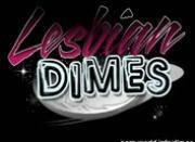 Lesbian Dime Threesome