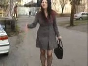 Office Lady Peeing her pantyhose