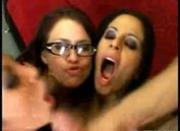 15 Girls Facialized!