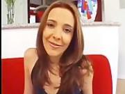 Cassandra Dark hair Newbie Handling Large Meatstick Nacho Vidal