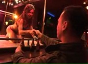 Sexy Stripper Juicy Pearl Fucks a Customer