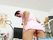 Kinky babe Nicoletta Emilie big natural tits