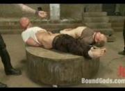 Nasty MASTER/sub sex game bounded and banged hard